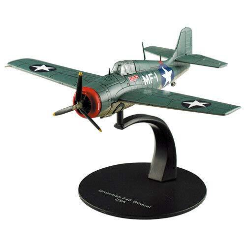 OPO 10 F6F Hellcat + F4F Wildcat Juego de 2 Aviones de Combate GRUMMAM AC13 + AC18 1//72