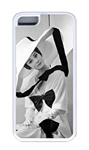 Audrey Hepburn iphone 5c iphone 5c PC Case Cover (transparent), iphone 5c iphone 5c case Audrey Hepburn