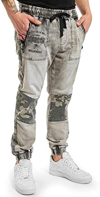 Yakuza męskie jeansy do biegania: Odzież