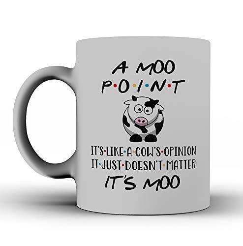 FRIENDS TV Show Mug, A Moo Point Gift, Mug Inspired By Friends, Joey Quote, Best Friends, Friendship, Rachel, Monica, Chandler, Joey ()