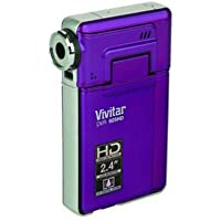 Vivitar DVR925-GRAPE-ABL 8.1 MP HD Digital Video Camera with 2-Inch LCD, Grape