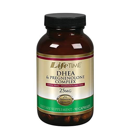 Lifetime DHEA Pregnenolone Complex, 90 Capsules