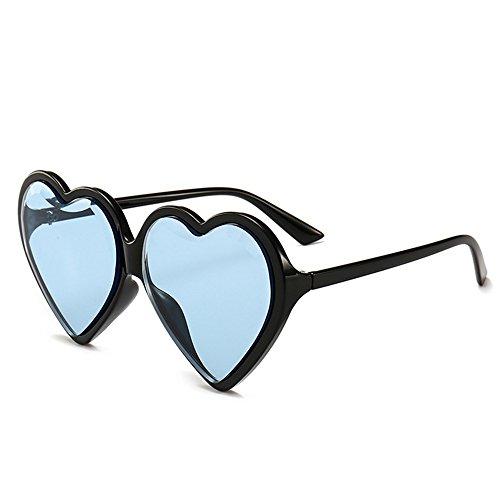 Gu en Peggy Forme en Cœur Lunettes Plein C6 Lady Forme Colorée UV Les Voyage de Surdimensionnées Protection C7 Couleur pour en de de air Femmes lentille de d0rq0Yfnx