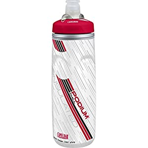 CamelBak Podium Chill Insulated Water Bottle, 21 oz, Red