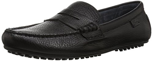 Polo Ralph Lauren Men's Wes Driving Style Loafer, Black, 10.5 D US (Lauren Loafers)