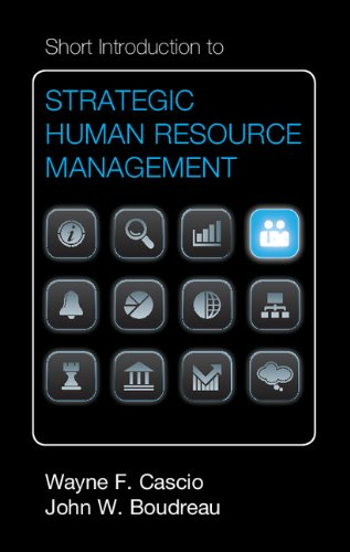 Short Introduction to Strategic Human Resource Management (Cambridge Short Introductions to Management)