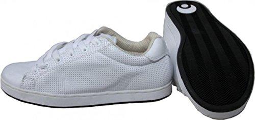Osiris Troma II Skate Shoes PR / Holly Roller / White