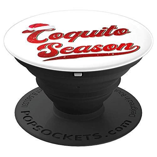 Puerto Rico Rum - Coquito Puerto Rico Parranda Puerto Rico Rum Eggnog Drinking PopSockets Grip and Stand for Phones and Tablets