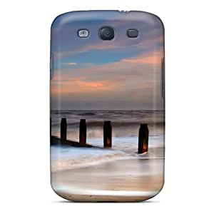 Premium Protection Southwold Beach Case Cover For Galaxy S3- Retail Packaging
