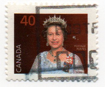 Single 1987 Queen Elizabeth II Issue 40 Cent Scott #1168 ()