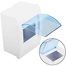 Indoor Distribution Box - 1pc Plastic Distribution Protection Box For 3-4 Ways Circuit Breaker Indoor On The Wall
