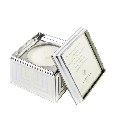 Soziety by Votivo Trapezoid Tin Wonderful White 19ZT (Votivo Incense)