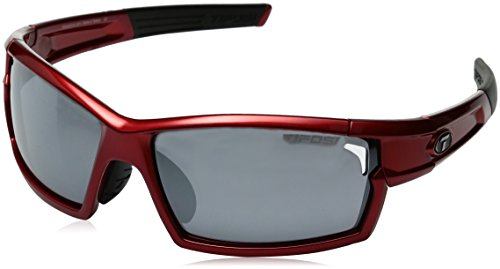 Tifosi Golf Camrock Wrap Sunglasses, Metallic Red, 143 - Sunglasses Numbers Meaning