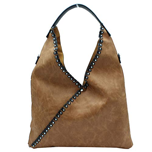Misemiya - Sac à main pour femme et sac à bandoulière pour homme Sr-a9521 (42 * 50 1cm) Marron