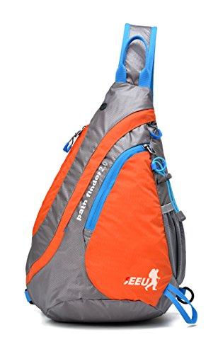 SEEU Sling Backpack for Women Men, Lightweight Back Sack Rope Sling Bag Cross Body Messenger Bags for Gym Travel