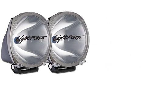 Lightforce Driving Light 210Mm, Wide Cornering Beam Single Unit 12V 100W Hb3 Halogen DL210W