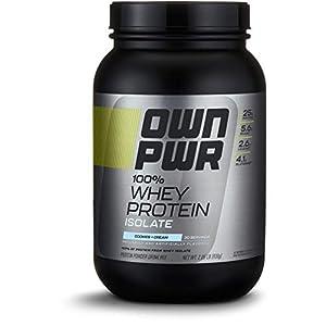 Amazon Brand OWN PWR 100% Whey Protein Isolate Powder
