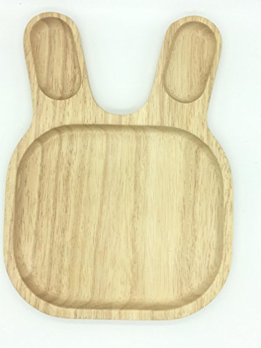 Seven One Boards for pizza, wooden plate, ash board, board for serving dishes, wooden board, a unique board, cutting board, wooden cutting boards, wooden planks, boards chopping kitchen (Rabit shape) - Lisences Plate Flipper