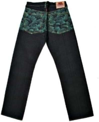 RMC Martin Ksohoh jeans full back Green Tsunami wave REDM1881