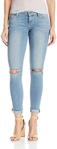 Paige Women's Verdugo Ankle W/ Raw Hem Cuff Jeans