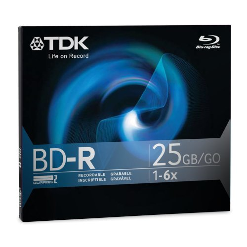 TDK Blu-Ray 25GB Single Layer Recording Disc (Discontinued by Manufacturer)