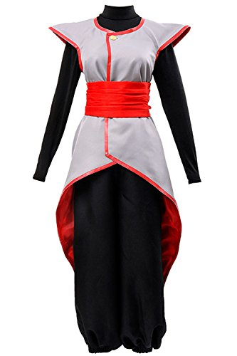UU-Style Dragon Ball Cosplay Halloween Dress Super Son Goku Black Supreme Kai Zamasu Merged Potara Uniform Suit Outfit