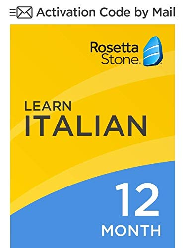 Software : Rosetta Stone: Learn French for 12 months on iOS, Android, PC, and Mac [Activation Code by Mail]