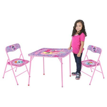 New My Little Pony Table and Chair (Set of 3)