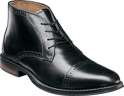 ba383d7328e12 Amazon.com | Nunn Bush Men's Robinsons Cap Toe Chukka Boot | Chukka