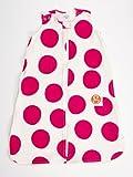 Gunamuna Cotton Dreams Gunapod Wearable Baby Sleepsack Natural Collection, Petunia Pink/Cocoon, Small
