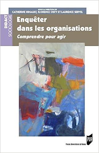 Vignette document Enquêter dans les organisations. Comprendre pour agir