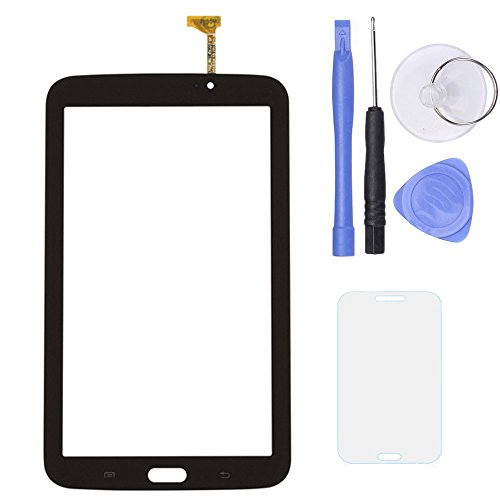 SPHENEL Digitizer Touch Screen for Samsung Galaxy Tab 3 7.0 T210 P3210 T217 (Digitizer Without Ear Speaker Hole-Black)