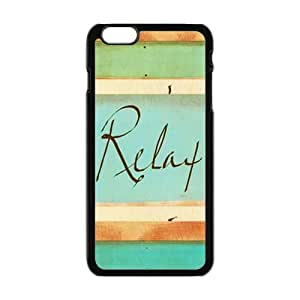 Andre-case Cheap cell phonecase, Funny quotes, Keep relax picture for black plastic iphone 6 plus case cover mX4Oqhr6 plusrJH