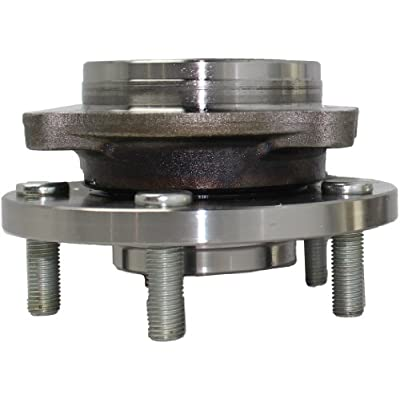 Brand New Front Wheel Hub and Bearing Assembly fits Eclipse, Endeavor, Galant 5 Bolt 513219: Automotive