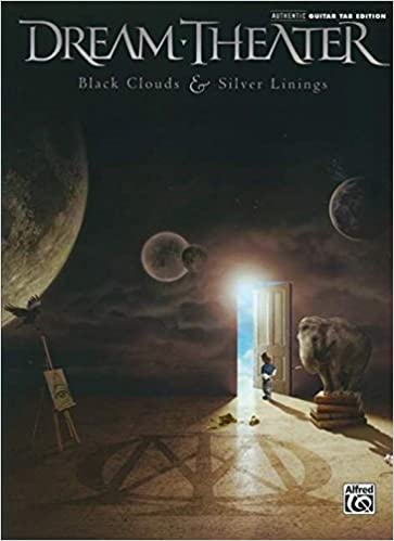 Guitar guitar tabs book : Amazon.com: Dream Theater Black Clouds & Silver Linings Book ...