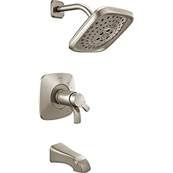 Delta Tesla 17 Series Dual-Function Shower Trim Kit with