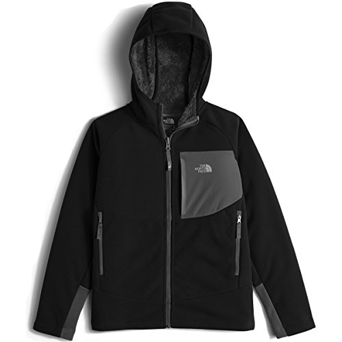 The North Face Boy's Chimborazo Hoodie - Tnf Black - S