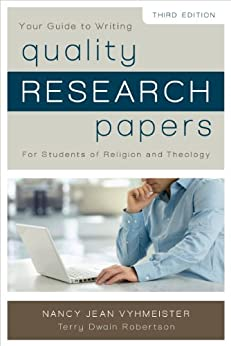 quality research papers for students of religion and theology ebook