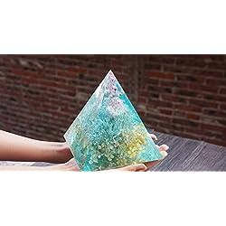 DOYOLLA Large Pyramid Silicone Mold DIY Cone Resin