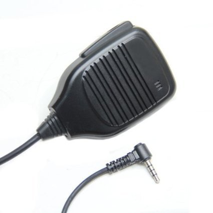 Pro Heavy Duty Shoulder Remote Speaker Mic Microphone PTT For Yaesu Vertex VX-1R 2R 3R 5R 150 160 180 210 210A Two Way Radio 3.5mm