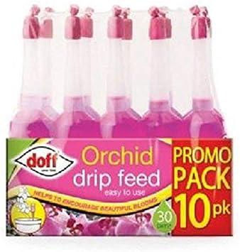 Lot de 10 compte-gouttes à engrais pour orchidée de marque Doff