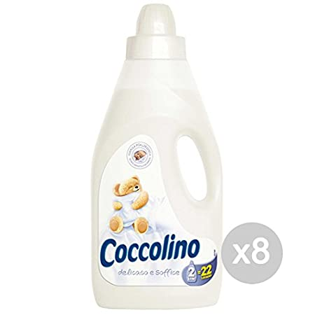 Juego 8 coccolino Suavizante LT 2 puro suave blanco Detergente ...