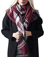 DiaryLook Fashion Men Schals für den Winter Warm Tartan Blanket Scarf Wrap Schal