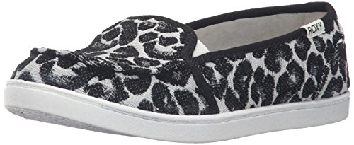 Roxy Women's Lido Iii Slip-on Shoes Flat, Black/Black/Dark Grey, 7 M US by Roxy (Image #1)