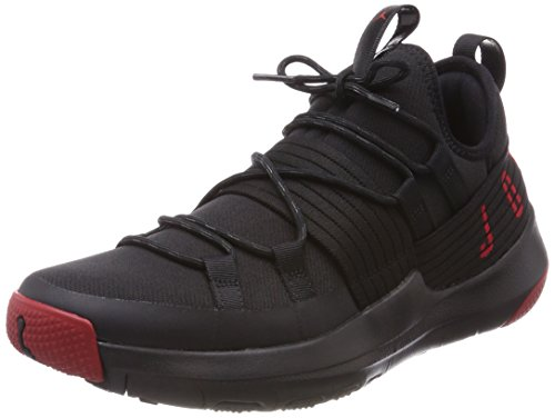 Nike Red Chaussures De Trainer Pro Basketball Homme gym 001 black Jordan Noir vrqwvxS