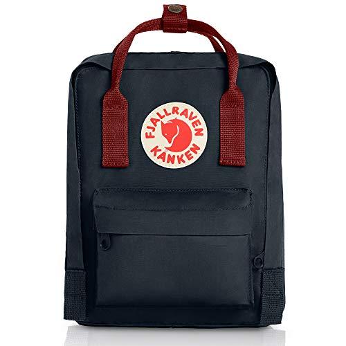 Price comparison product image Fjallraven Mini Kanken Backpack Black / Ox Red