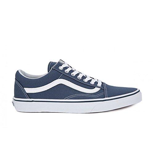 Vans Sk8-Hi - Zapatillas de skateboarding de ante para hombre Bleu
