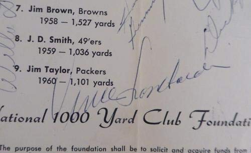 Green Bay Packers Greats 1964 Autographed Program With 27 Total Signatures including Curly Lambeau & Vince Lombardi #AD02842 PSA/DNA Certified