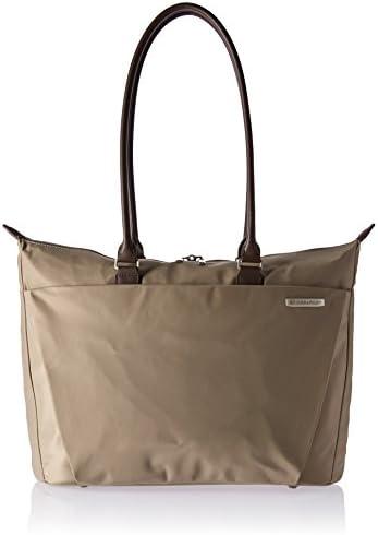 Briggs Riley Sympatico-Shopping Tote Bag, Caramel, One Size