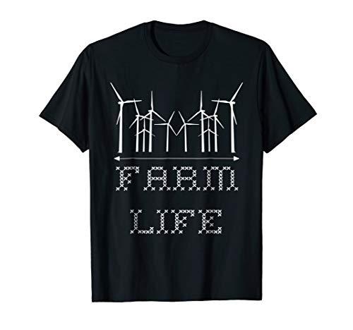- Farm Life Wind Turbine Technician T-shirt